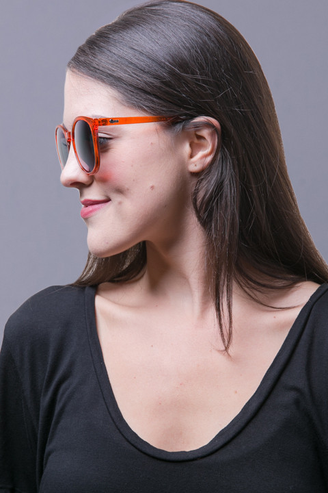 Quay Eyewear Australia Dixi Orange 2