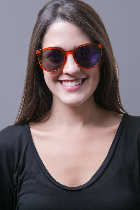 Quay Eyewear Australia Dixi Orange