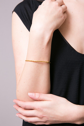 Swan Small Round Chain Gold