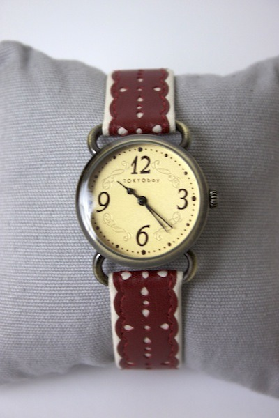 Tokyobay Watches Doily Red Watch