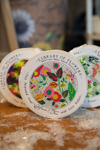 Library of Flowers Wildflower & Fern Soap