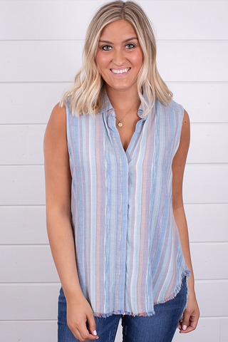 Bella Dahl Crossback Yoke Shirt
