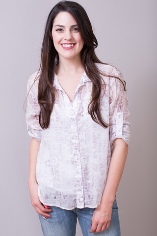 Bella Dahl Frosted Tulip Button Down