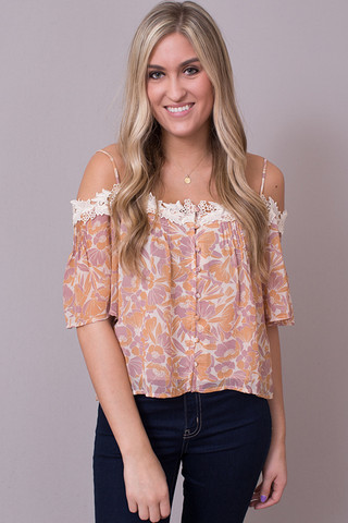 ASTR The Label Bernadette Top