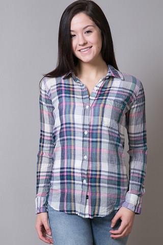 Rails Devyn Crinkle Button Down