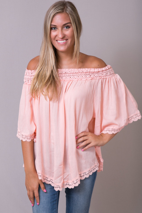 Hayden Lace and Shoulder Top