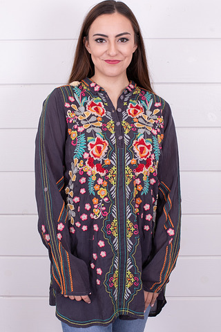Johnny Was Collection Lyndsey Tunic