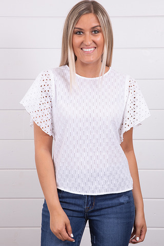 Knot Sisters Clover Top