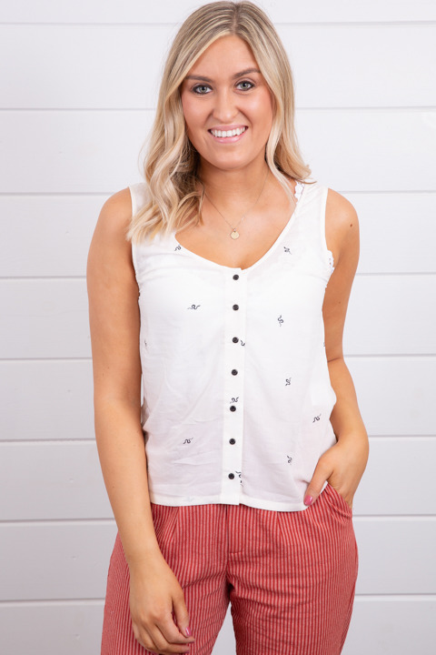Knot Sisters Kendall Tank