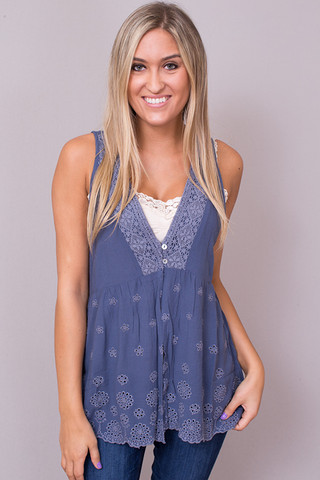 Blue Dove Tunic