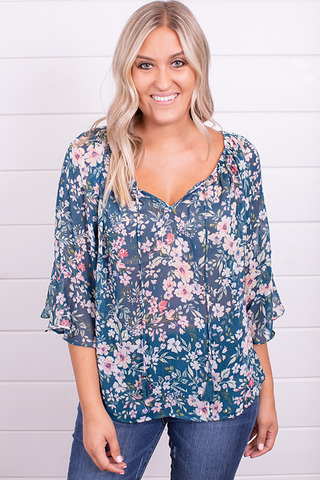 Lovestitch Emilia Floral Top
