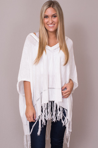 Lovestitch Fringe Dolman