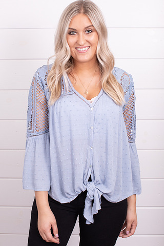 Lovestitch Periwinkle Blouse