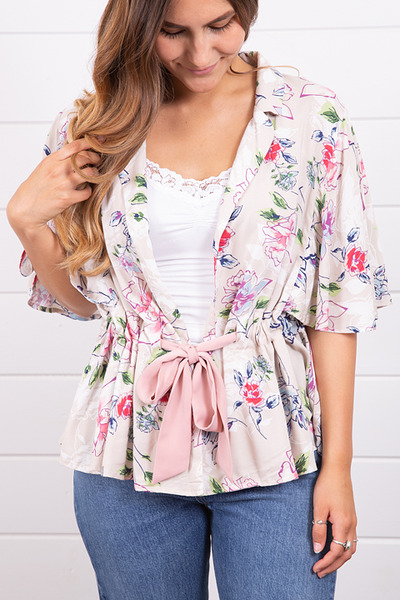 Mystree Bow Tied Blouse 3