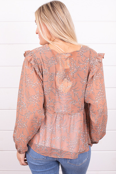 Mystree Fall Florals Blouse 3