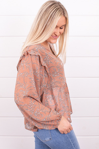Mystree Fall Florals Blouse 2
