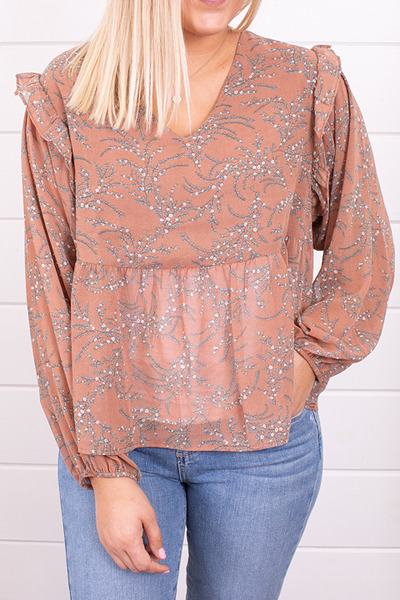 Mystree Fall Florals Blouse 4