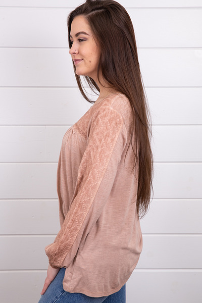 Mystree Woven Mix Top 2