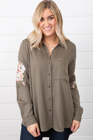 Zuri Embroidered Shirt