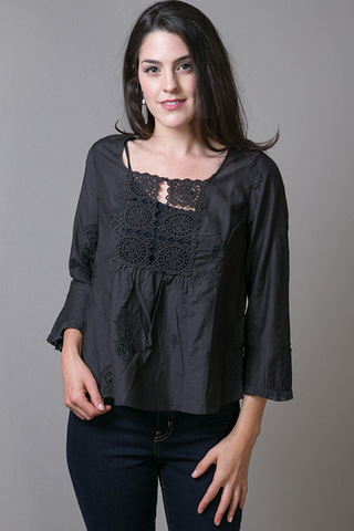 Odd Molly Cotton Silk Blouse