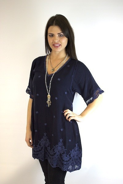 Johnny Was Collection Stargazing Tunic 4