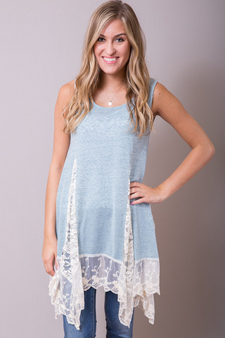 Entro Whispers Of Lace Tunic