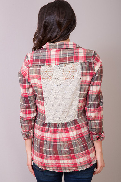 White Crow Canyon Flannel Shirt 3