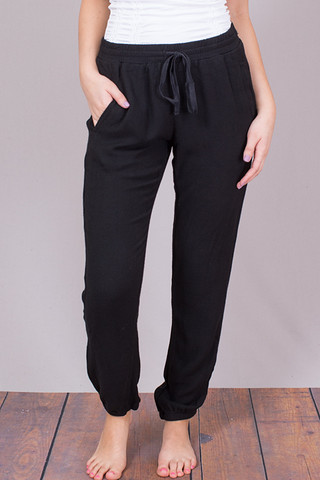 Bella Dahl Easy Sweat Pant Black