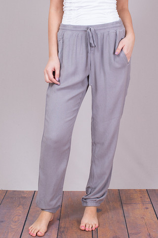 Bella Dahl Easy Sweat Pant Grey