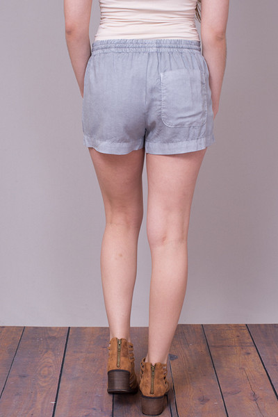 Bella Dahl Multi Stitched Short Grey 3