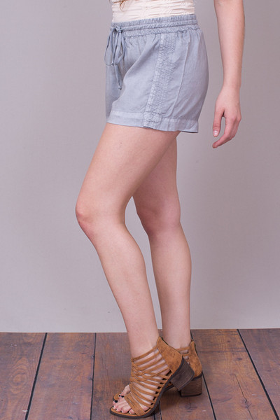 Bella Dahl Multi Stitched Short Grey 4