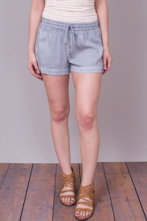 Bella Dahl Multi Stitched Short Grey
