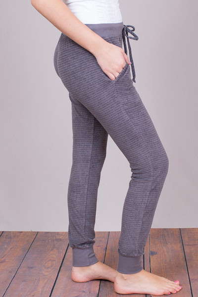 Bella Dahl Steel Grey Skinny Sweat 4