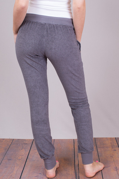 Bella Dahl Steel Grey Skinny Sweat 5