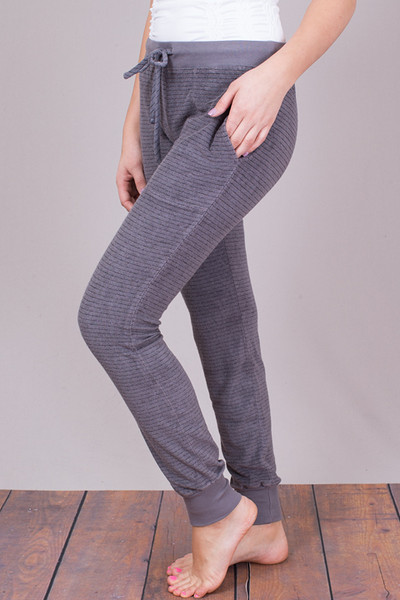 Bella Dahl Steel Grey Skinny Sweat 3