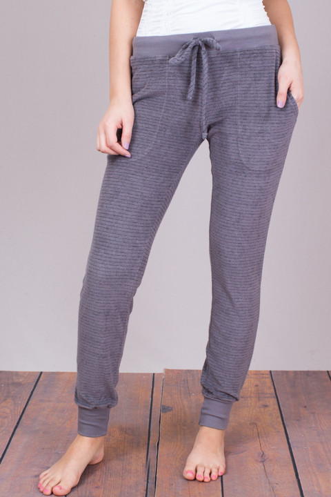 Bella Dahl Steel Grey Skinny Sweat