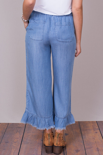Billy T Ruffle Pant 3