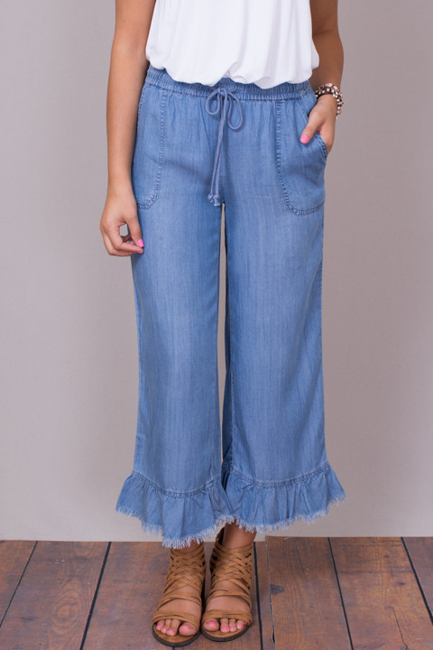 Billy T Ruffle Pant