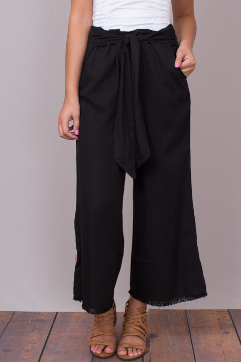Billy T Tie Front Pant