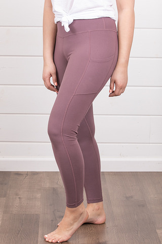 Rae Mode Butter Legging Mauve