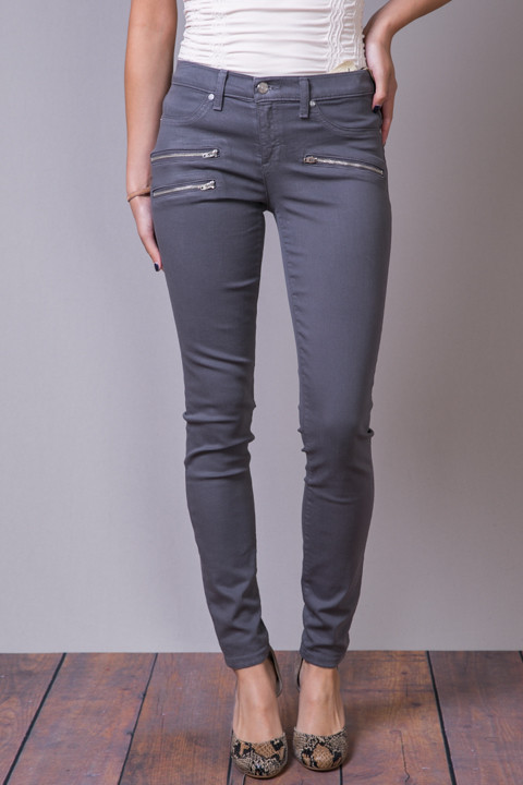 Henry Belle Biker Jean Chrome