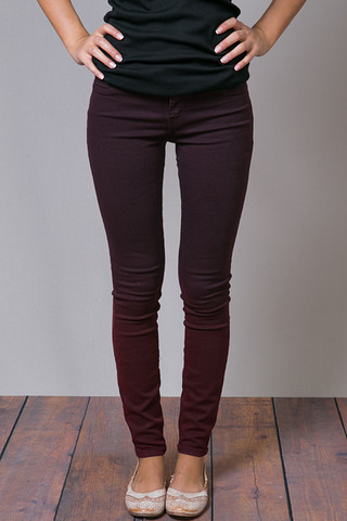 Henry & Belle Cherry Ombre Super Skinny Ankle