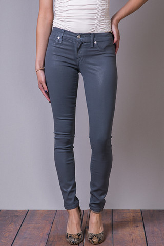 Henry & Belle Gun Metal Coated Super Skinny Ankle