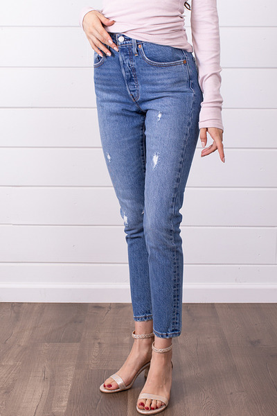 Levis Leave A Trace 501 Skinny 4