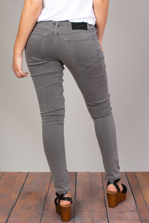 Mystree Slate Stretch Skinny Jean 4