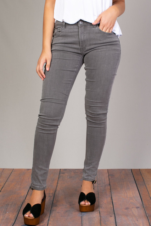 Mystree Slate Stretch Skinny Jean
