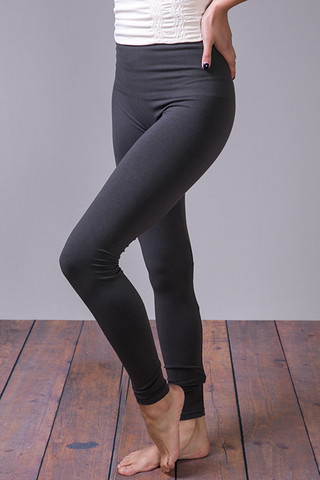 M. Rena Dark Grey Tummy Tuck High Waisted Legging