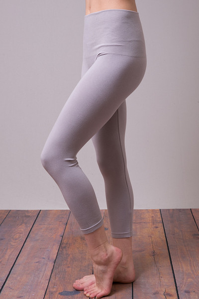 Cropped Tummy Tuck Legging Opal Grey