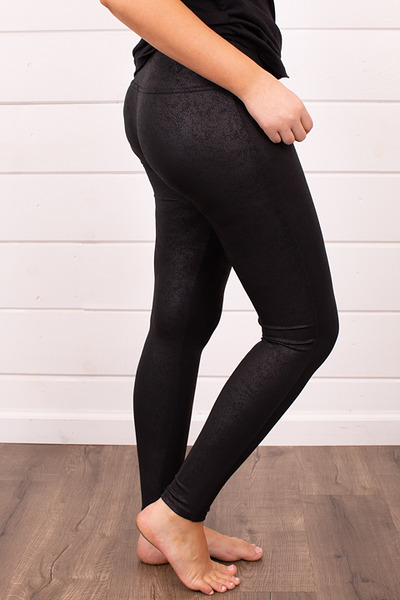 M. Rena Faux Leather Leggings 3