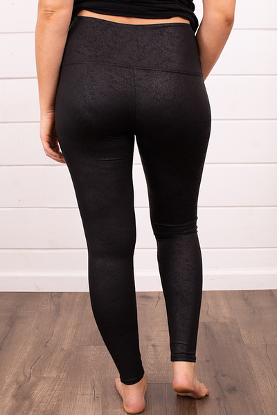 M. Rena Faux Leather Leggings 2